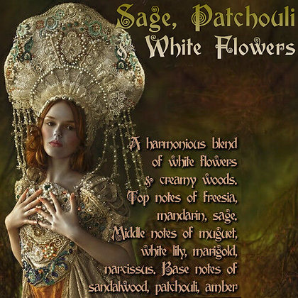 Sage, Patchouli & White Flowers Parfum