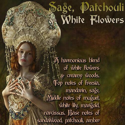 Sage, Patchouli & White Flowers Parfum