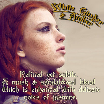 White Ginger & Amber