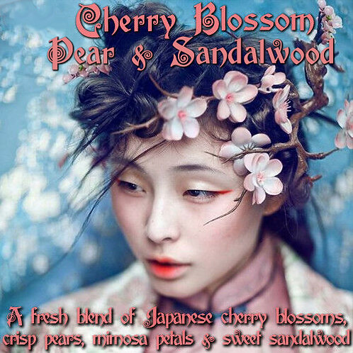 Cherry Blossom, Pear & Sandalwood Parfum