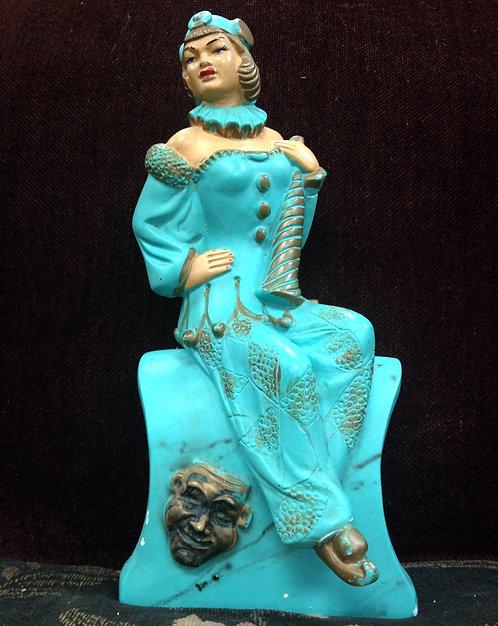 30's The Jester Lady Figurine