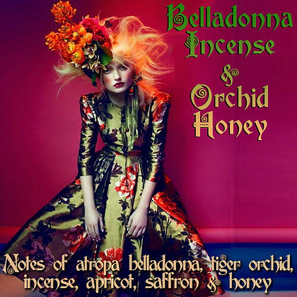 Belladonna Incense & Orchid Honey Parfum