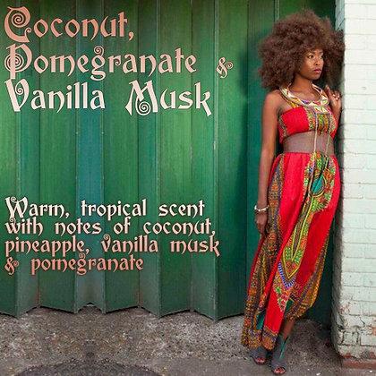 Coconut, Pomegranate & Vanilla Musk Parfum