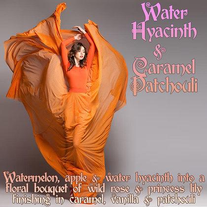 Water Hyacinth & Caramel Patchouli Parfum