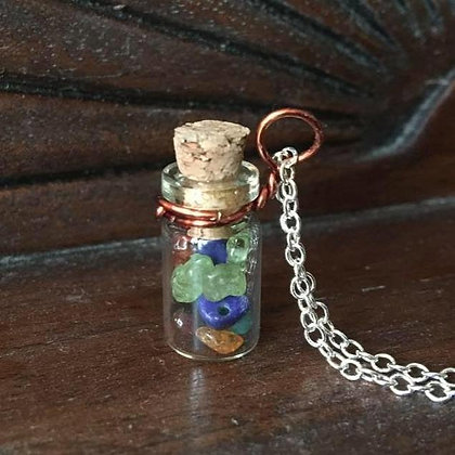 Bujo Bottle Necklace