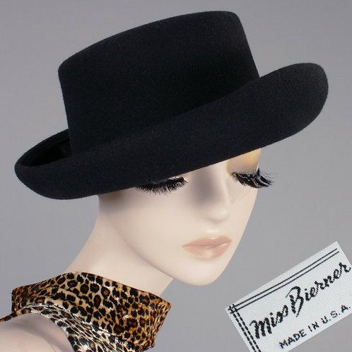 Miss Bierner Black Brim Hat