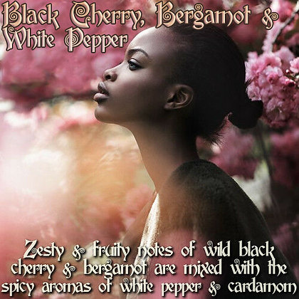 Black Cherry, Bergamot & White Pepper Parfum