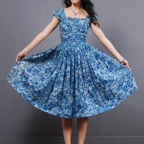 XS Vintage 50s Herbert Sondheim Dress