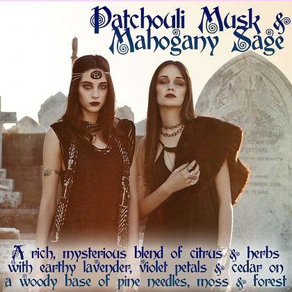 Patchouli Musk & Mahogany Sage Parfum