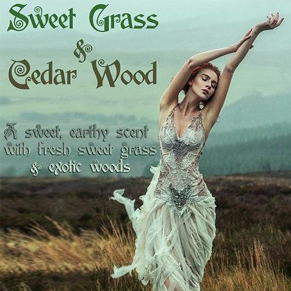 Sweet Grass & Cedar Wood Parfum