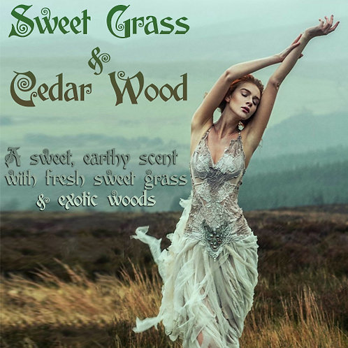 Sweet Grass & Cedar Wood Parfum