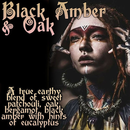 Black Amber & Oak