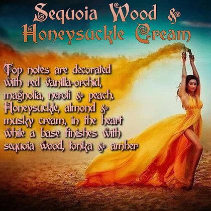 Sequoia Wood & Honeysuckle Cream Parfum