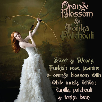 Orange Blossom & Tonka Patchouli Parfum