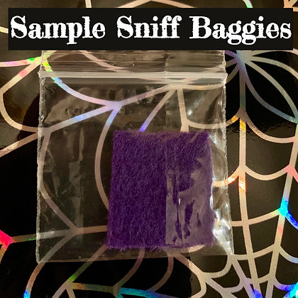 perfume oil sample sniff bag