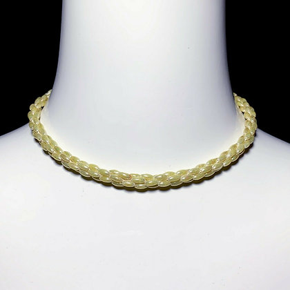 Costume Pearl Choker Necklace