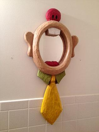 70's Say Aah Clown Mouth Mirror