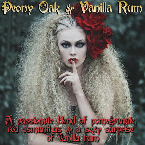 Peony Oak & Vanilla Rum Parfum