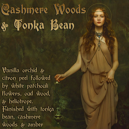 Cashmere Woods & Tonka Bean