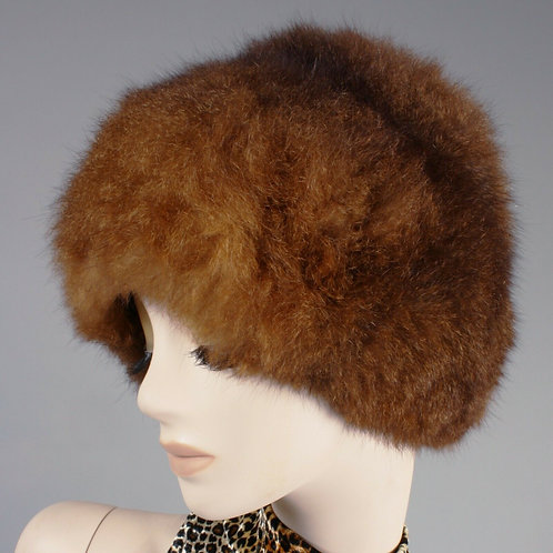 Russian Opossum Fur Hat
