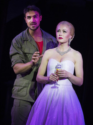 Eva Peron in Evita West End