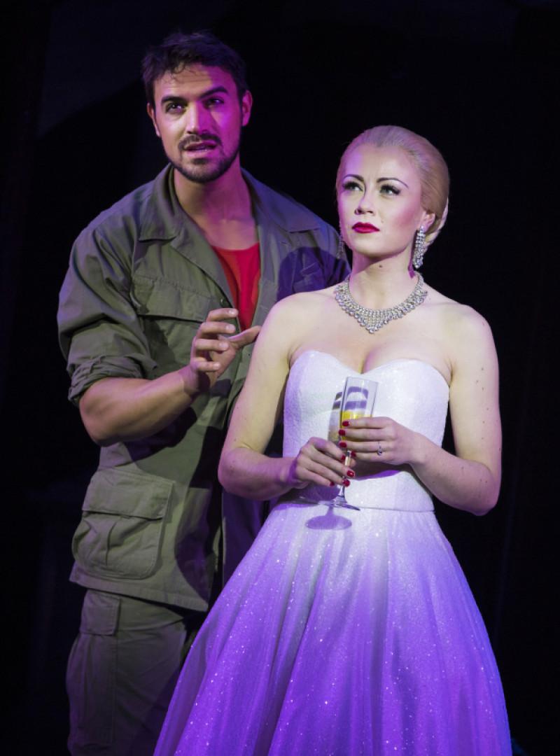 Eva Peron in Evita West End