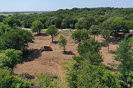Lasnd Clearing in Round Mountain, Texas