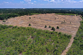 Land Clearing Round Mountain Texas