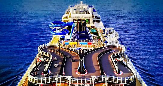 Top Deck Activites on Norwegian Cruise L