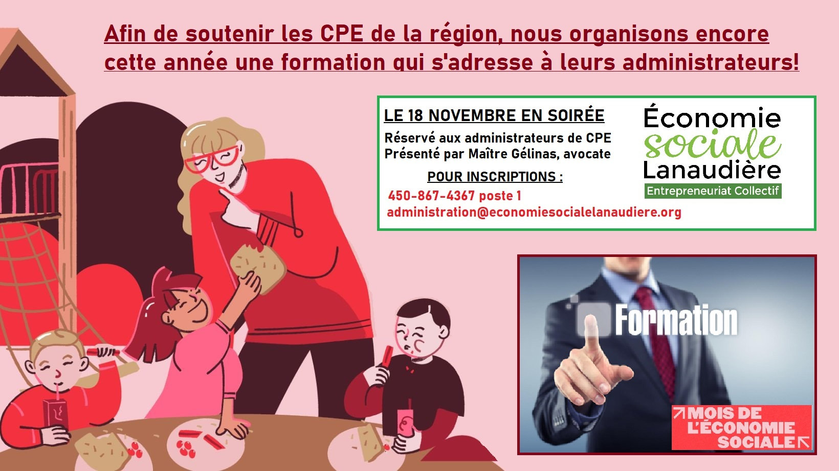 Formation administrateurs CPE