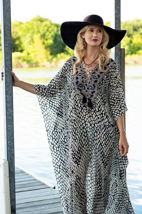 Luxe of the Riviera Caftan