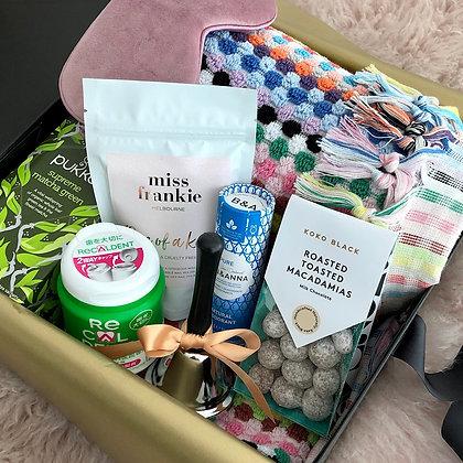 'Pom Poms & Sunshine' Gift Box for Chemotherapy and Radiation