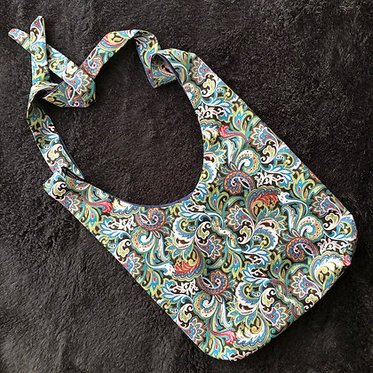 Stylish Surgical Drain Bag in Paisley