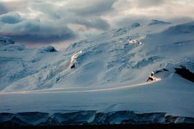 Last light in Antarctica