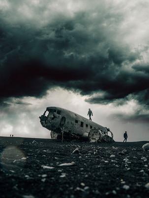 Wreck near Reykavik