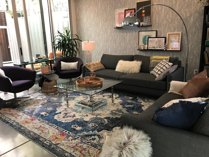 Traci Stumpf's Living Room Makeover with Apt2B