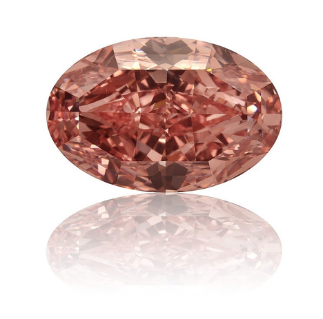 2ct Fancy Brownish Pink Diamond