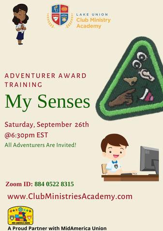 September 26 2020 Adventurer Award Train