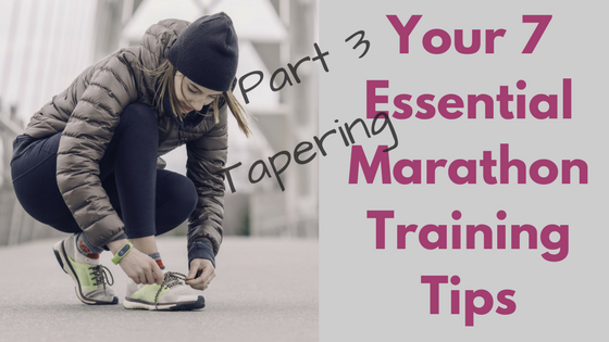 Essential Marathon Tapering Tips