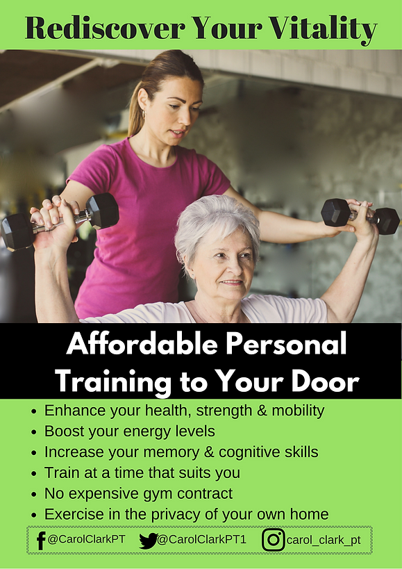Affordable & convinient personal trainin