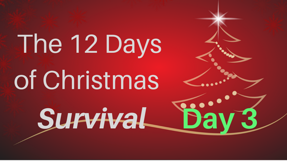 12 Days of Xmas Survival - Day 3