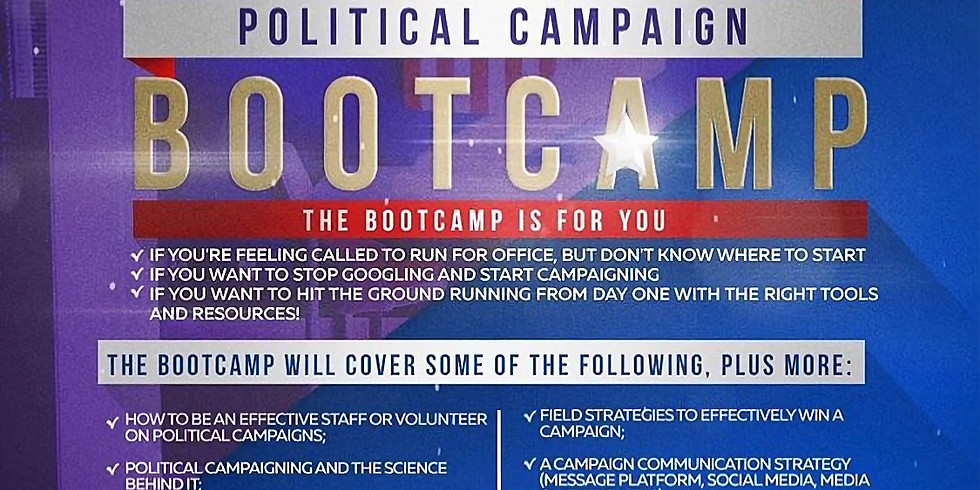 PolitaCoach Fall Boot Camp Session One: Considerations before you Run!