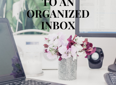 8 Tips to an Organized Inbox