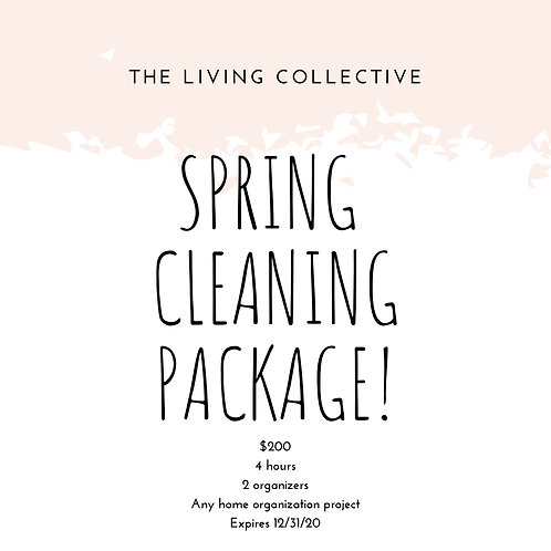 Spring Cleaning Package