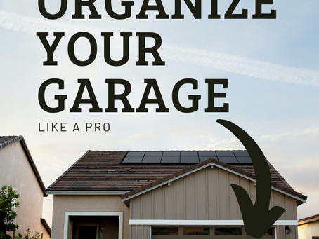 Organize Your Garage Like a Pro