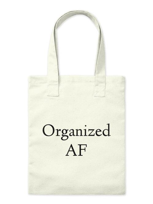 Organized AF Tote Bag