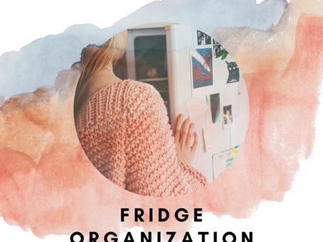 Fridge Organization 101