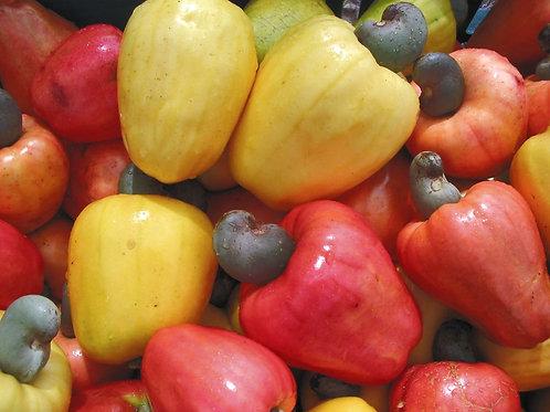 Frutas de caju fresco