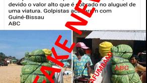"""FAKE NEWS: """"CADÁVERES SÃO TRANSPORTADOS DE MOTO NA REPÚBLICA DA GUINÉ-BISSAU"""""""