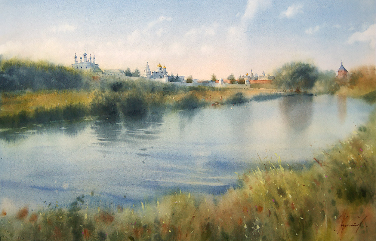 Suzdal. Summer hot afternoon
